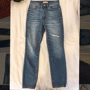 Madewell Rigid High-Rise Jeans - Size 27